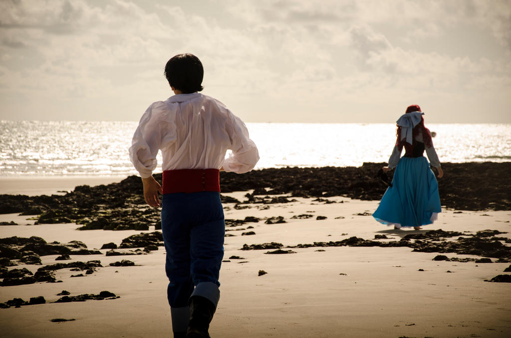 Eric and Ariel - The Little Mermaid by Pokeeeeee