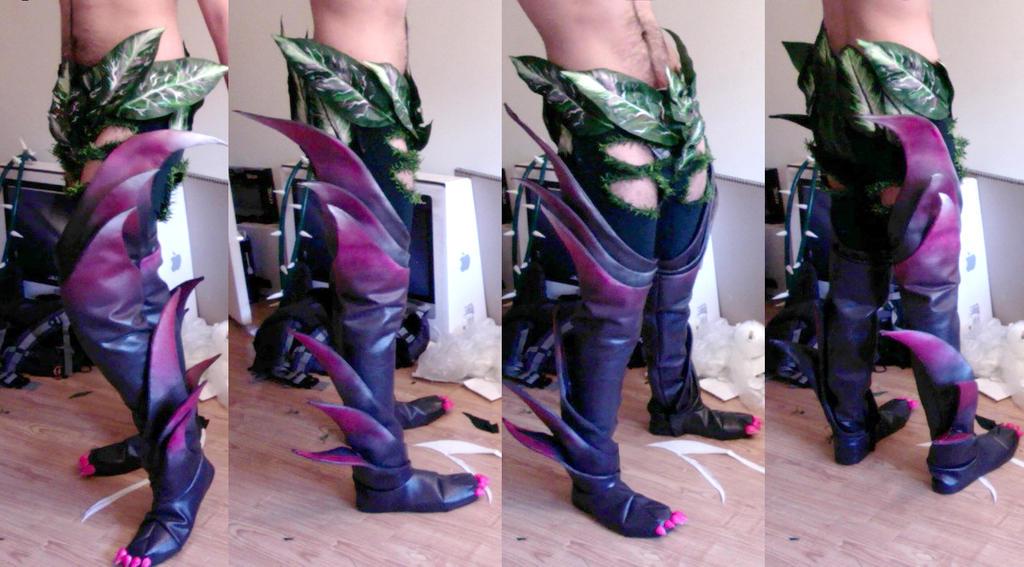 Zyra legs by Pokeeeeee
