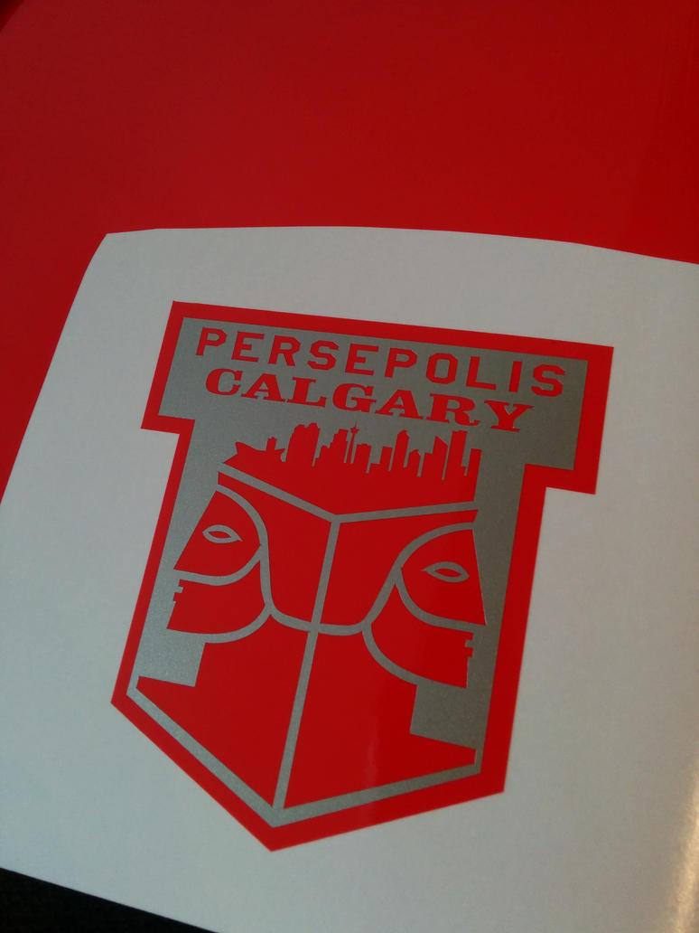 Persepolis Calgary - Decal by Busker3000