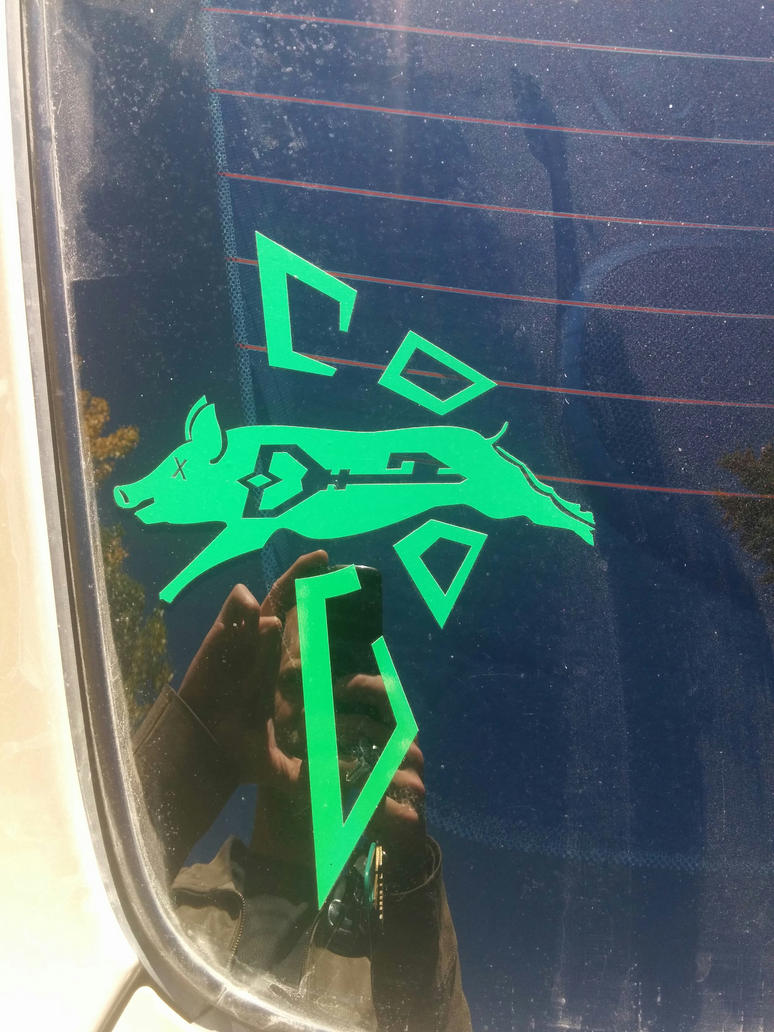 Pig Roast - Decal by Busker3000