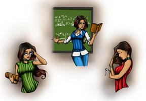 Teacher Character Studies by k1lleet