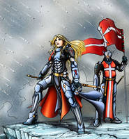 Infinity Jeanne d'Arc by k1lleet
