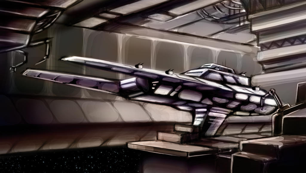 Star Wars Old Republic Pincer Frigate by k1lleet
