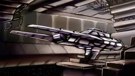 Star Wars Old Republic Pincer Frigate by k1lleet