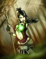 Morrigan Dragon Age by k1lleet