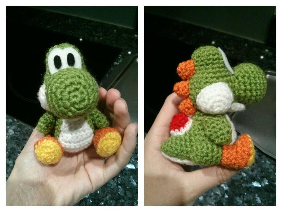 Crochet Yoshi : Crochet Yoshi by LadyBlueberryBoo on DeviantArt