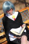 I'm reading. by HK-Sayaka