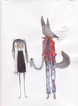 just walking my werewolf