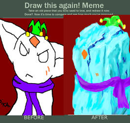 improve ur drawings by making it ice