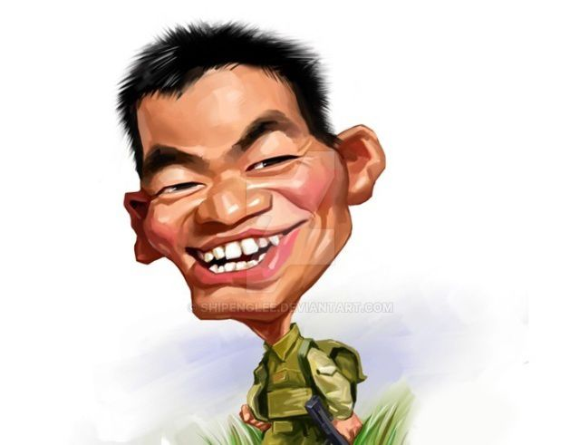 A caricature portraiture for Mr.Wang by shipenglee