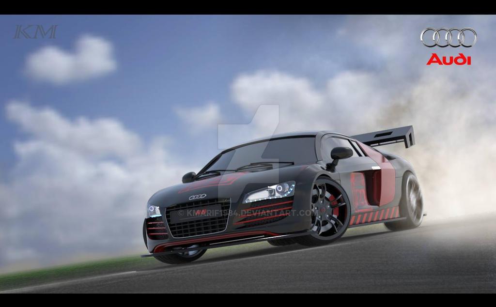 Automobile 3D Modeling: Audi R8 by kmarif1984