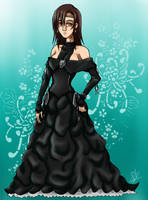 Tifa_gown contest by EmeraldSora