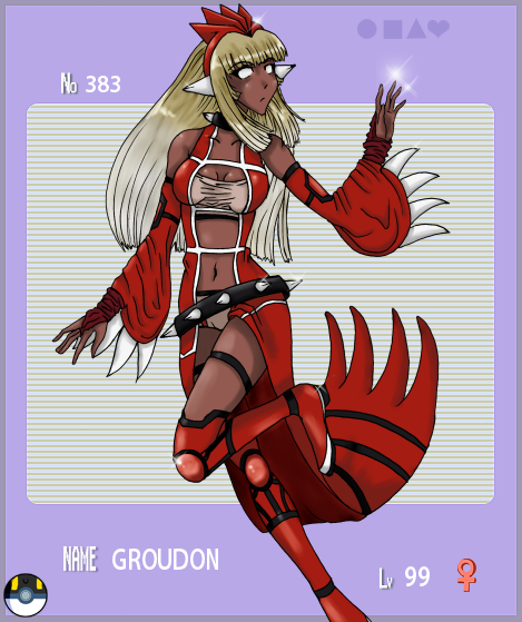 Groudon Gijinka Groudon_gijinka by emeraldsora