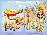Rapidash Pokemon to Digimon