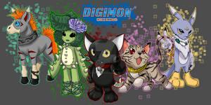 Digimon of Origin 1st 5