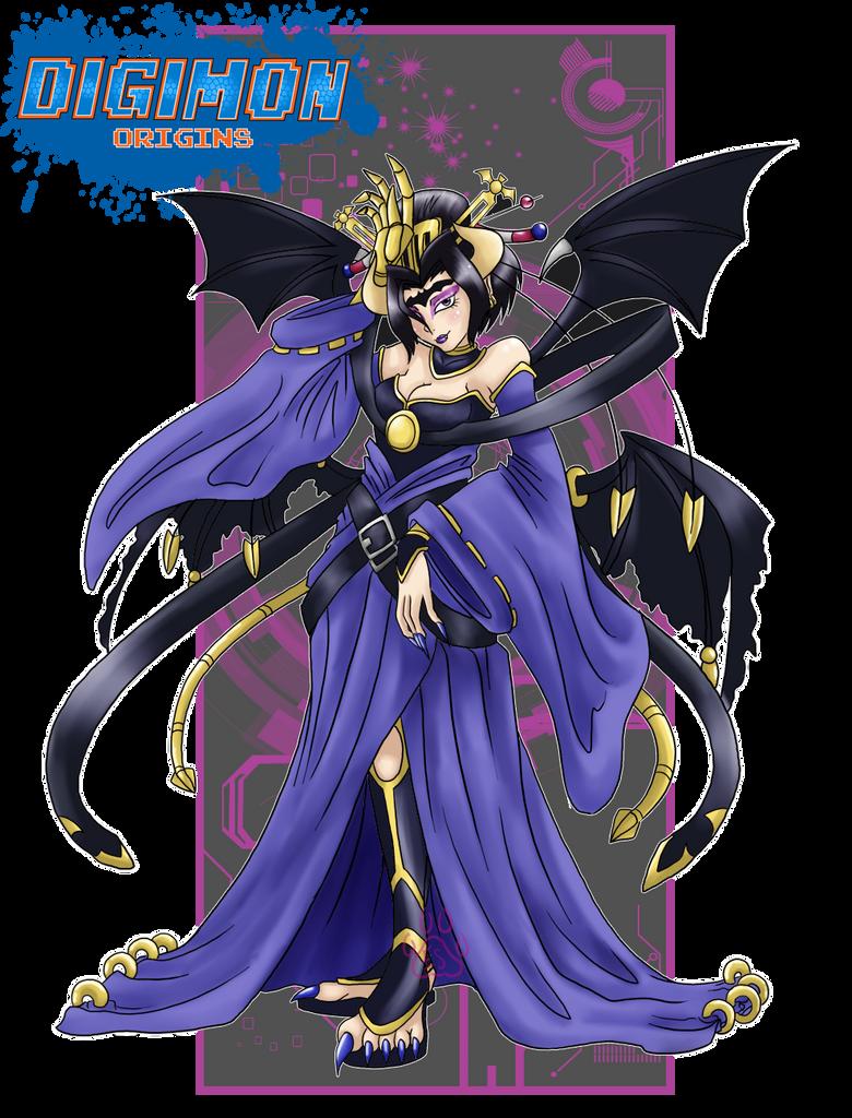 Shadow Lords_Lilithmon by EmeraldSora