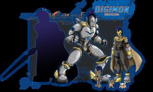 Digimon Origins_Midomon by EmeraldSora