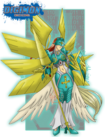 Digimon Lords_Ophanimon by EmeraldSora
