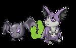 Commission_Baby Bat Digimon