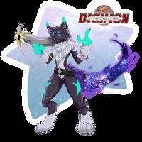 Apocalypse_Lupusmon by EmeraldSora