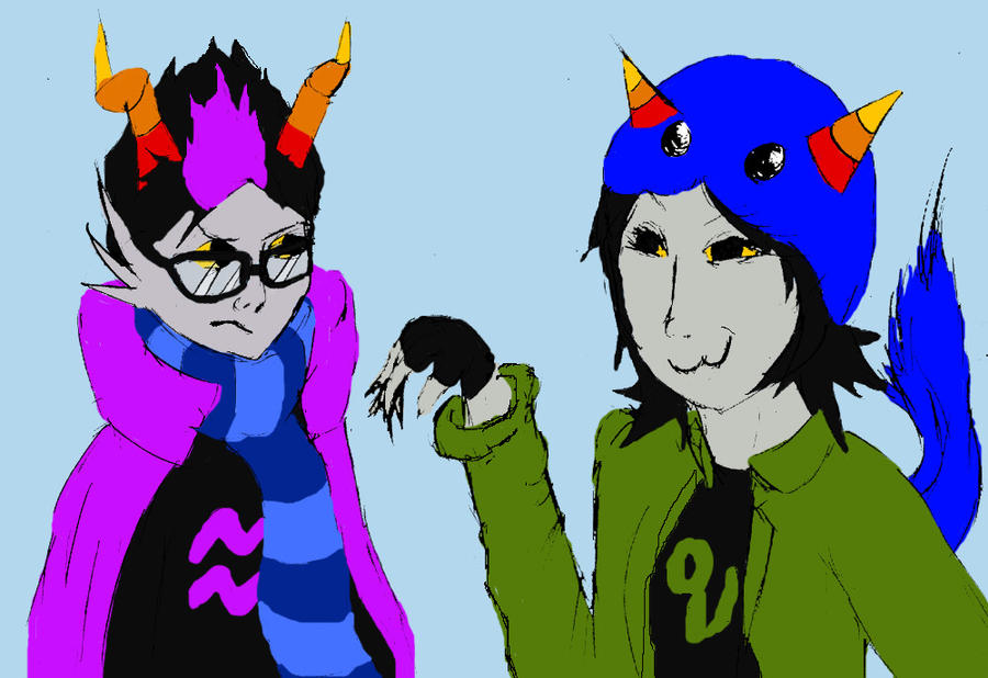 Nepeta And Eridan Nepeta And Eridan By clipart