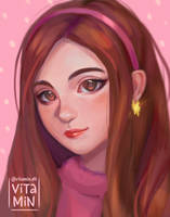 Mabel Pines by vitamindll