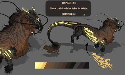 Adopt Dragon Auction (OPEN) by Bakamenashii