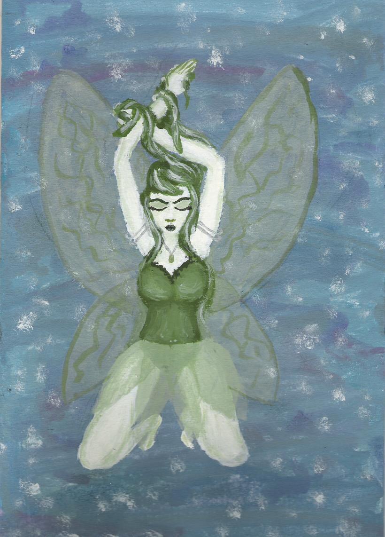Green Fairy by x-kill-kiss-x