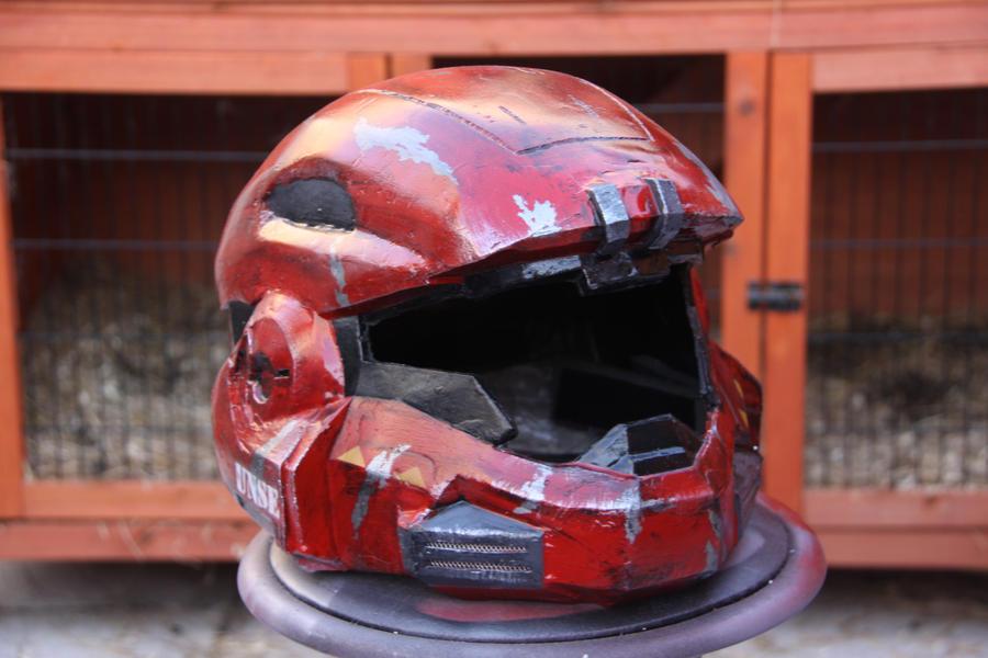 Mk V B helmet from halo reach by killjoy95
