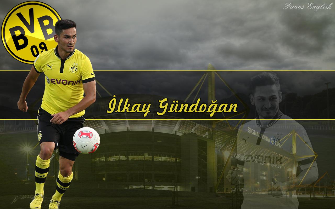 Ilkay Gundogan by PanosEnglish on DeviantArt