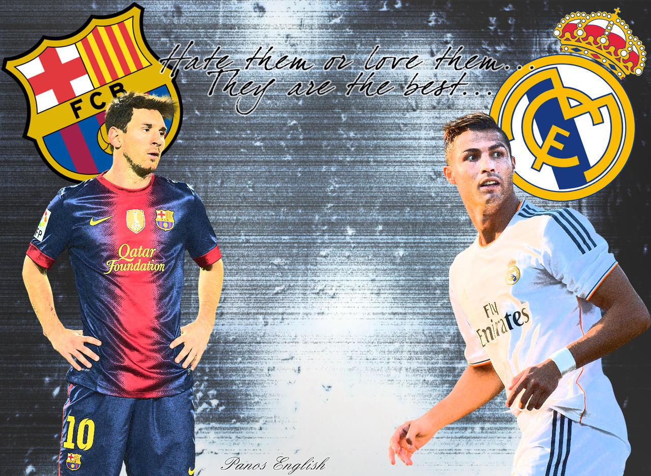 Cristiano Ronaldo VS Messi Wallpaper 2014 Best Quality ...