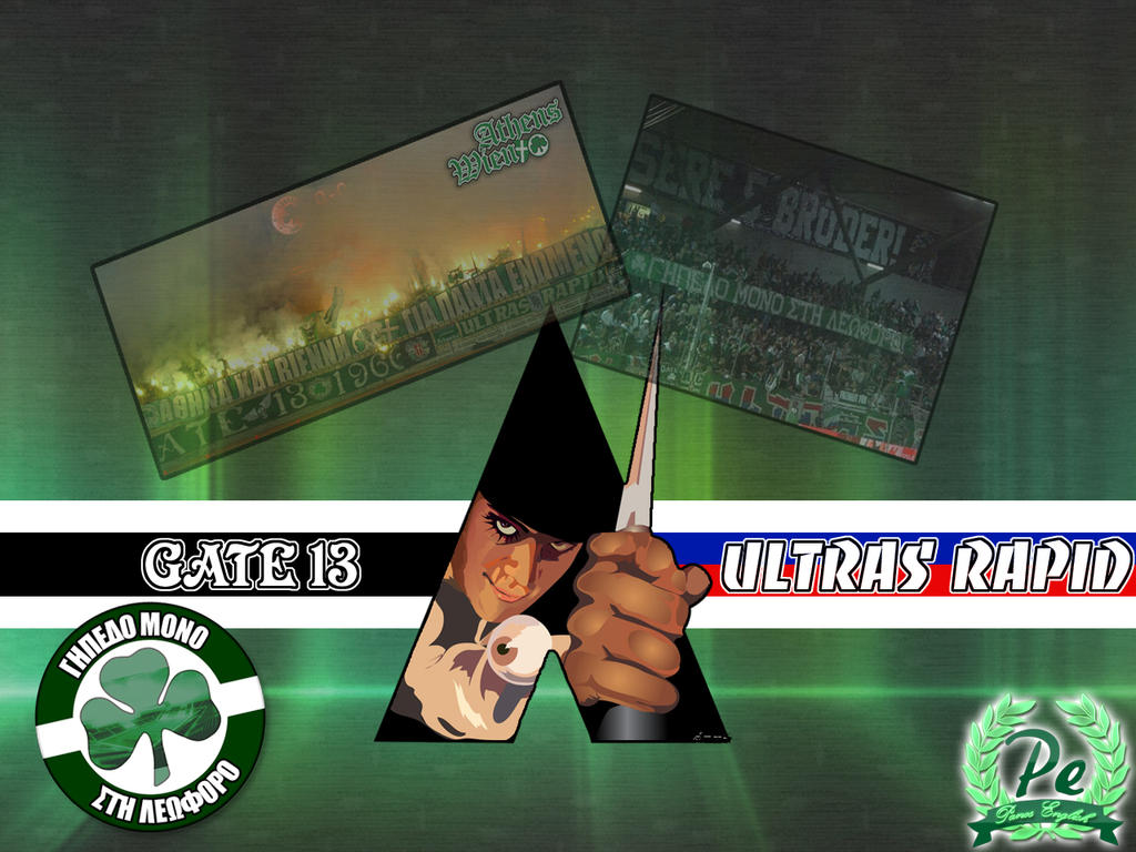 Gate 13 - Ultras Rapid by PanosEnglish