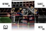 Messi-Suarez-Neymar