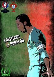 Cristiano Ronaldo poster by PanosEnglish