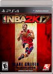 NBA 2K17 Blake Griffin cover by PanosEnglish