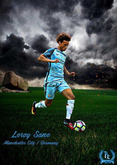 Leroy Sane by PanosEnglish on DeviantArt