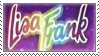 Lisa Frank Stamp By Apple Rings D1w2g5q
