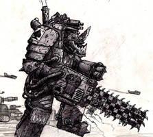 Ork Nob by Jericho7