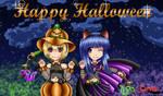 Happy Higurashi Halloween by TheBloodyCorvid