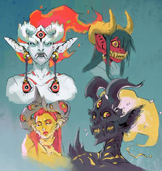 Demons by Eyecager
