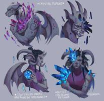 Crystal Plague Gargoyles