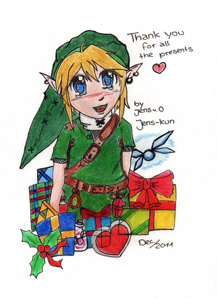 Christmas Link - Gift for ValaSedai by Jens-kun