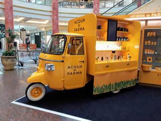 2. A Piaggio Ape at the Trafford Centre.