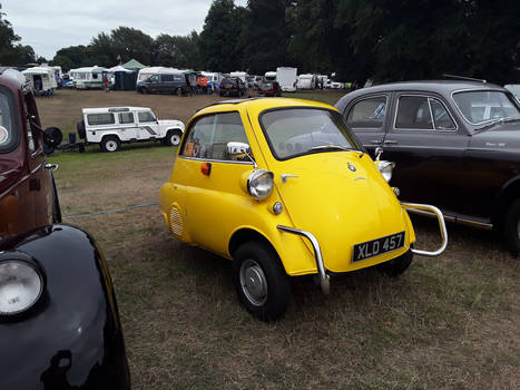1. A Yellow BMW Isetta. ( Year  Unknown ).