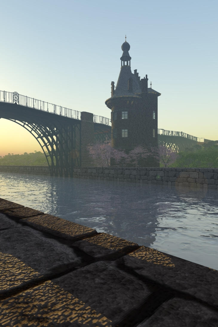 The Canal by Runewitch