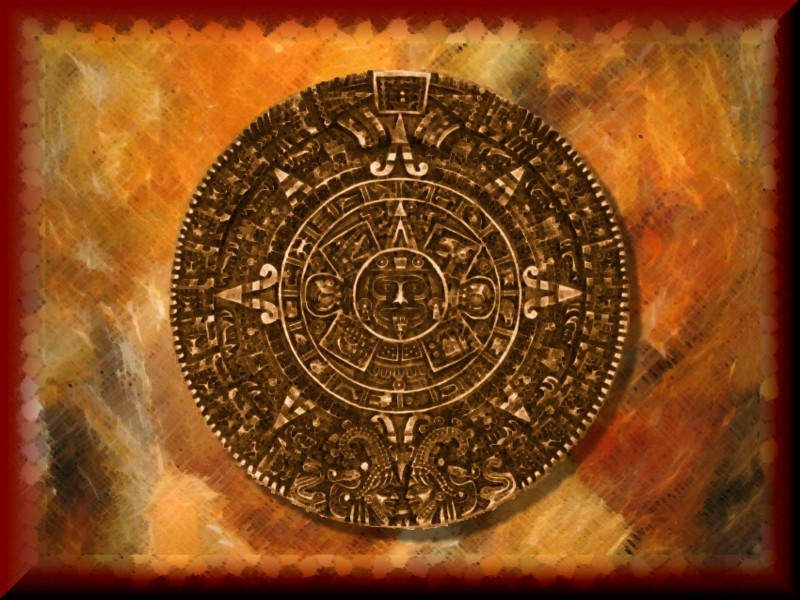 Aztec Callendar Wall by Runewitch