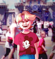 Miguel at Disneyland