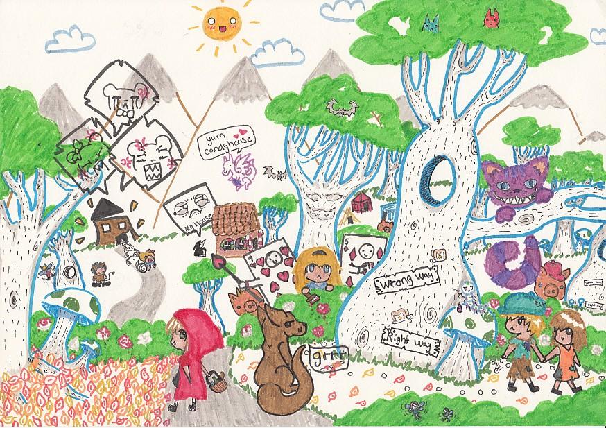 fairy tales by kawaiii-bunny