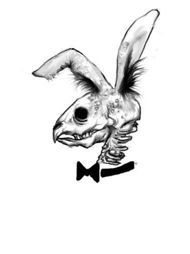 hannah bunny tattoo by colorwuller on deviantart. Black Bedroom Furniture Sets. Home Design Ideas