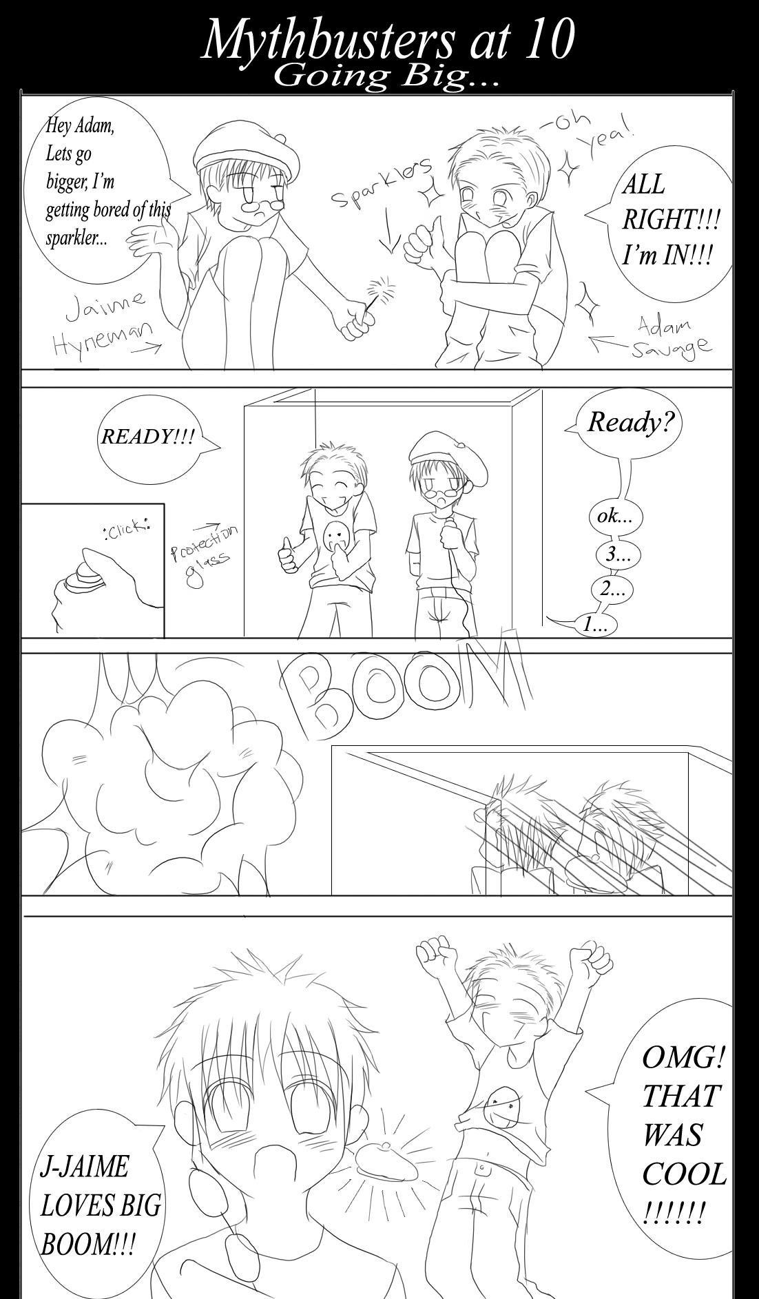 Mythbusters at 10 by ShinobiRikku